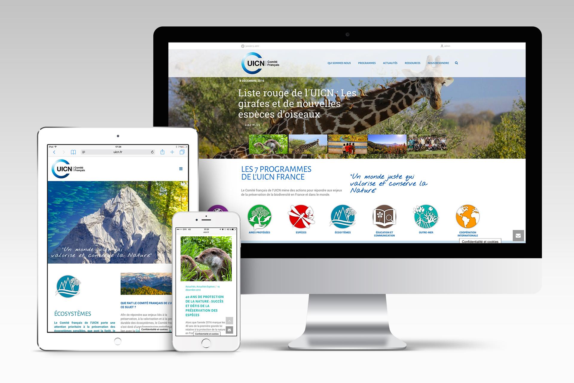 UICN siteweb
